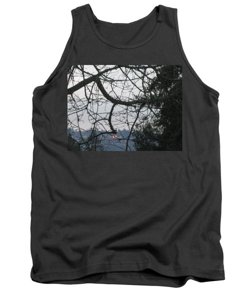 Spider Tree Tank Top by David Trotter