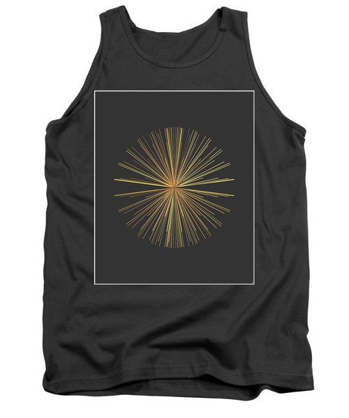 Tank Top featuring the digital art Spikes... by Tim Fillingim