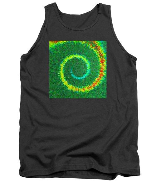 Spiral Rainbow C2014 Tank Top