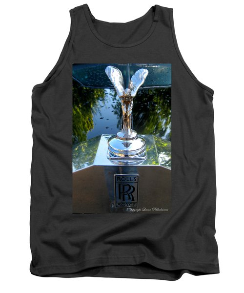 Spirit Of Ecstacy Tank Top by Leena Pekkalainen