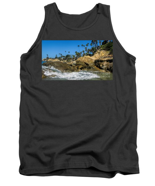 Tank Top featuring the photograph Splash by Tammy Espino