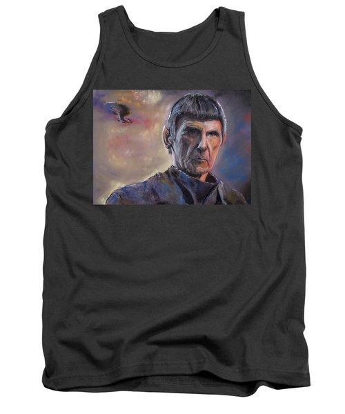 Spock Tank Top by Peter Suhocke