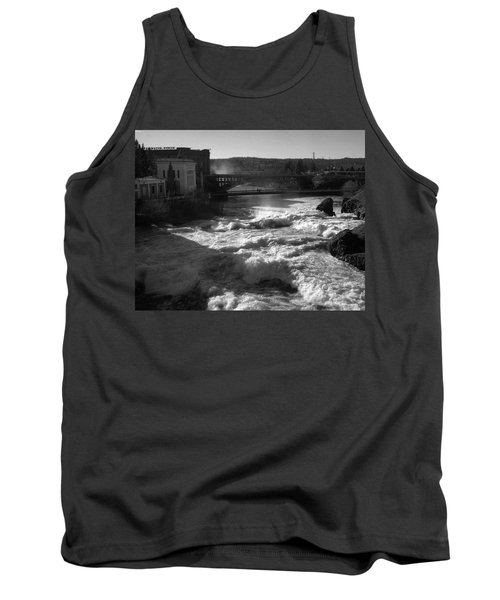 Spokane Falls Spring Flow Tank Top