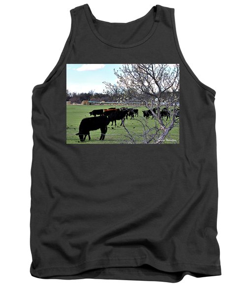 Spring In The Hay Meadow Tank Top
