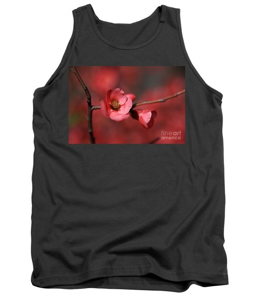 Spring Richness - Flowering Quince Tank Top