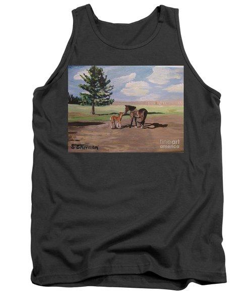 Springtime Foal Tank Top