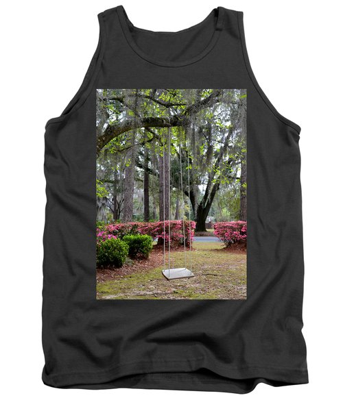 Springtime Swing Time Tank Top by Carla Parris