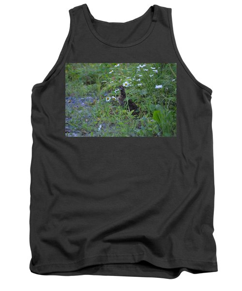Tank Top featuring the photograph Spruce Grouse by James Petersen