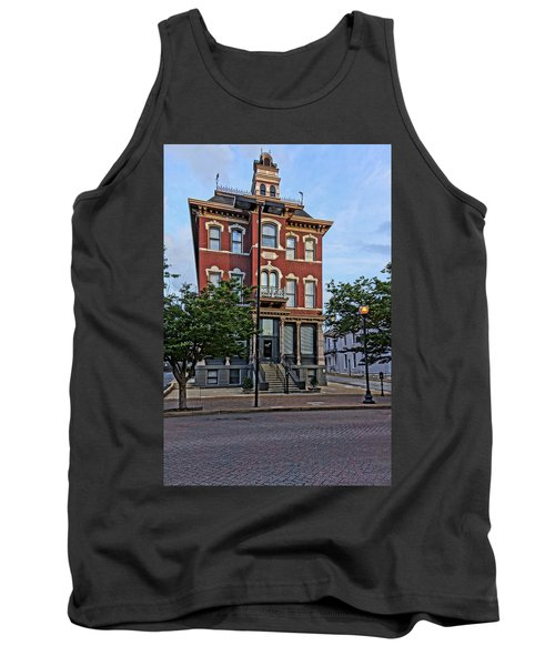 St. Charles Odd Fellows Hall Built In 1878 Dsc00810  Tank Top