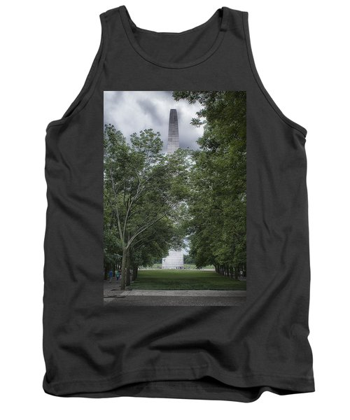 Tank Top featuring the photograph St Louis Arch by Lynn Geoffroy