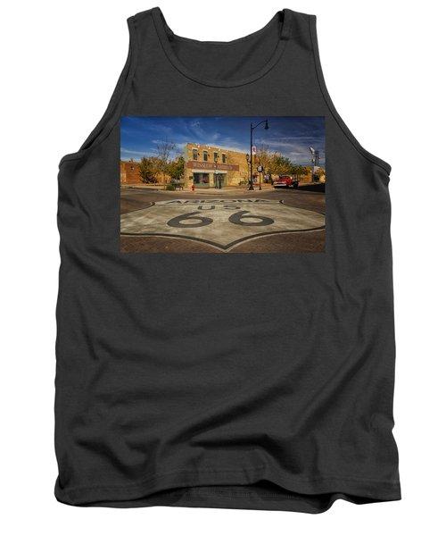 Standing On The Corner In Winslow Arizona Dsc08854 Tank Top