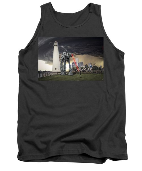 Tank Top featuring the photograph Star Wars All Terrain Armored Transport by Nicholas  Grunas