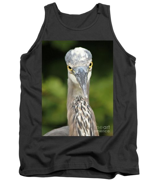 Tank Top featuring the photograph Staredown by Heather King