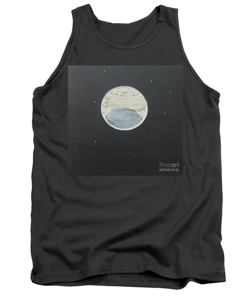 Tank Top featuring the painting Starlight by Mini Arora