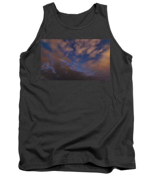 Tank Top featuring the photograph Starlight Skyscape by Marty Saccone