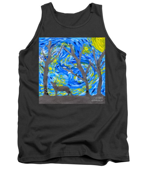 Starry Forest Tank Top