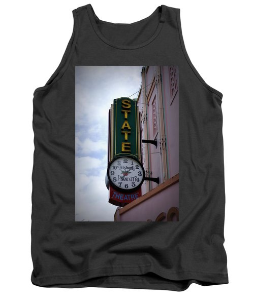 State Theatre Sign Tank Top by Laurie Perry