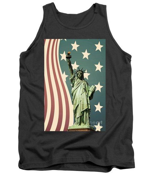 Statue Of Liberty Tank Top