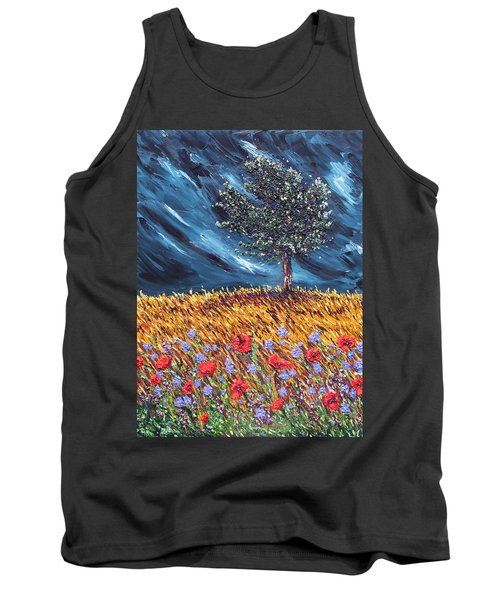 Tank Top featuring the painting Steadfast Love by Meaghan Troup