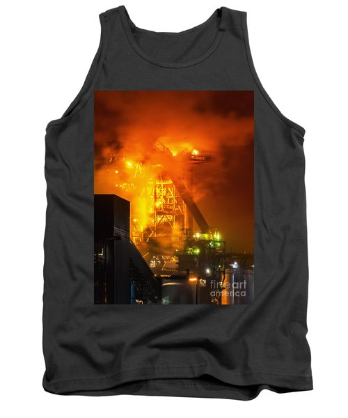 Steam And Light Tank Top by Daniel Heine