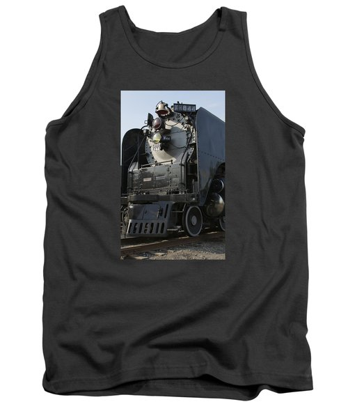 Tank Top featuring the photograph Steam Engine U P 844 by Jane Eleanor Nicholas