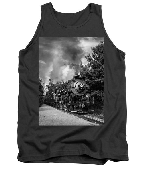 Steam On The Rails Tank Top