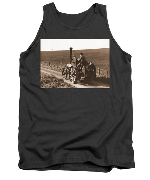 Steam Tractor Tank Top