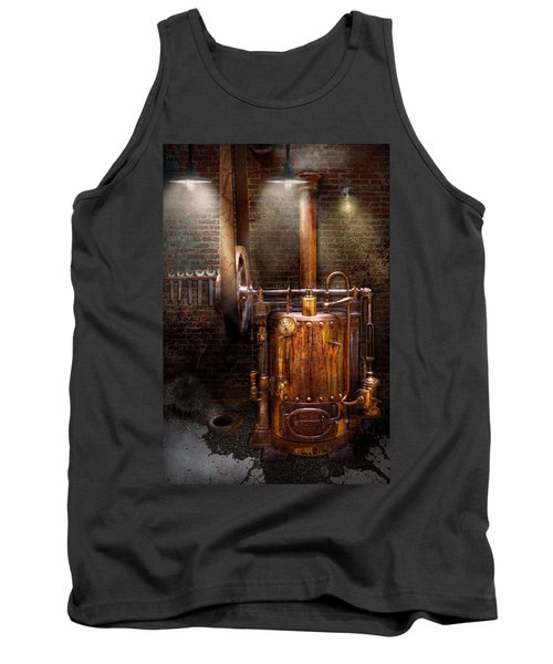 Steampunk - Powering The Modern Home Tank Top