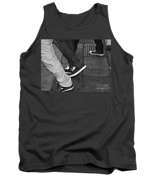 Stepping Out Tank Top by Clare Bevan