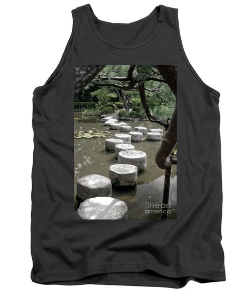 Stepping Stone Kyoto Japan Tank Top