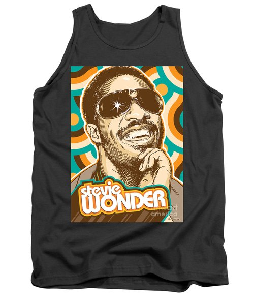 Stevie Wonder Pop Art Tank Top