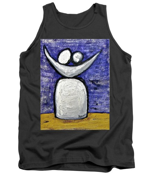 Tank Top featuring the painting Stills 10-002 by Mario Perron