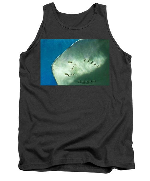Tank Top featuring the photograph Stingray Face by Eti Reid