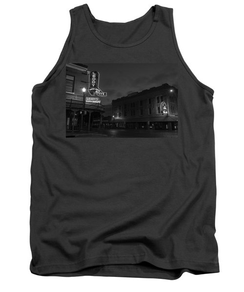 Stockyards Main And Exchange Bw Tank Top