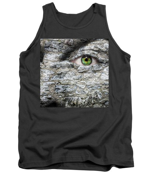 Stone Face Tank Top