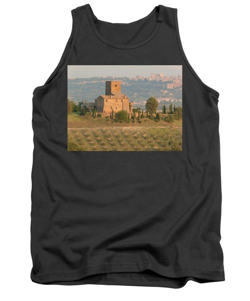 Tank Top featuring the photograph Stone Farmhouse by Marcia Socolik