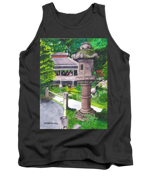 Stone Lantern Tank Top by Mike Robles