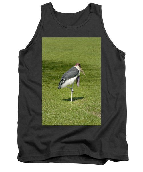 Tank Top featuring the photograph Stork by Charles Beeler