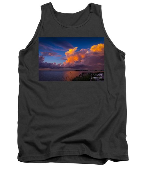 Storm On Tampa Tank Top