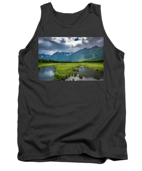 Storm Over The Mountains Tank Top