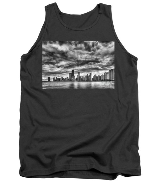 Storms Over Chicago Tank Top