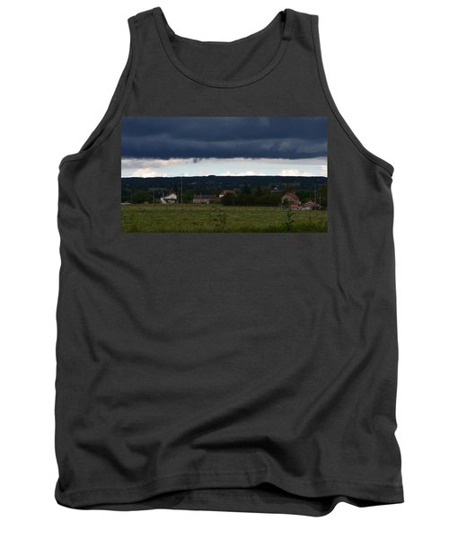 Stormy Countryside Tank Top