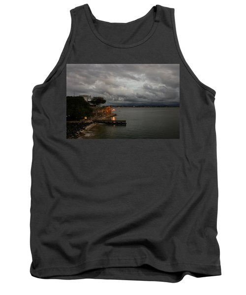 Tank Top featuring the photograph Stormy Puerto Rico  by Georgia Mizuleva