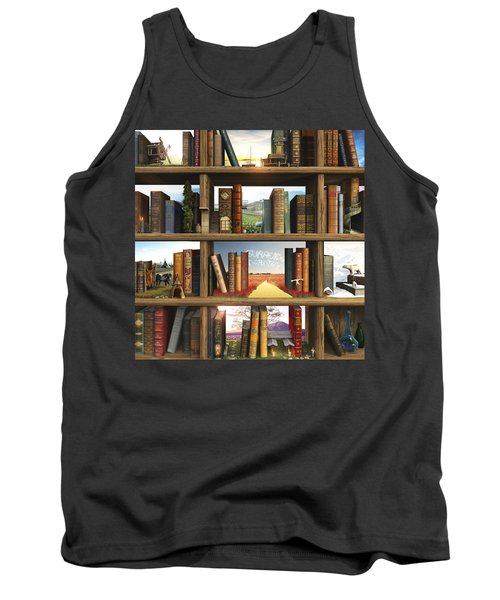 Storyworld Tank Top by Cynthia Decker
