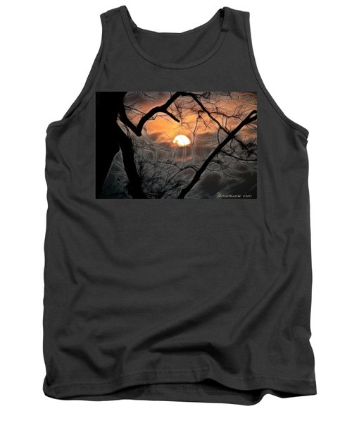 Tank Top featuring the photograph Strange Morning by EricaMaxine  Price