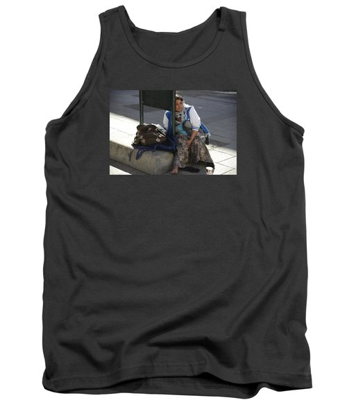 Street People - A Touch Of Humanity 10 Tank Top by Teo SITCHET-KANDA