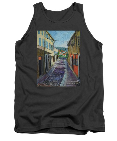 Street View From Provence Tank Top