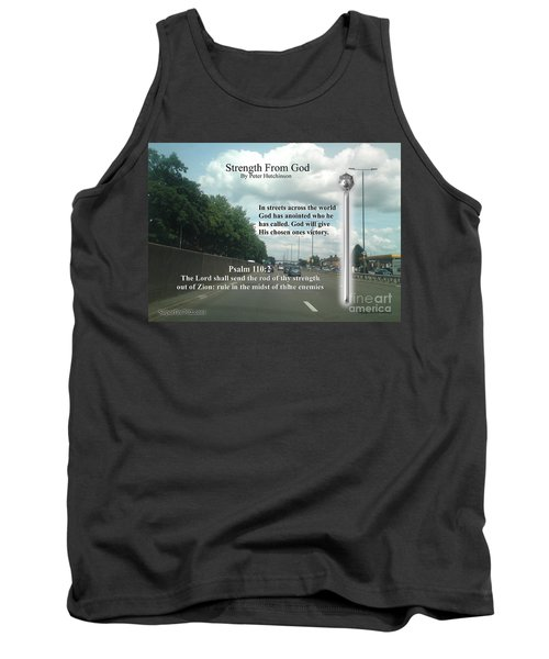 Strength From God Tank Top