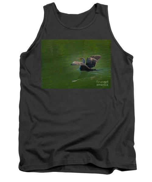 Strutting Cormorant Tank Top
