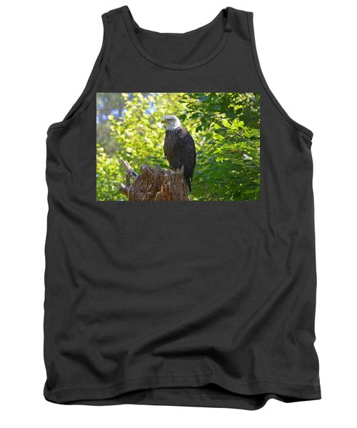 Tank Top featuring the photograph Stumped by David Porteus